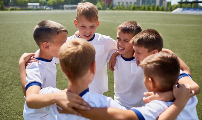 Colònies d'estiu amb futbol