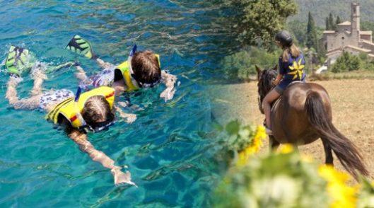 Colonias de verano Beach & Horses en Palamós y Mieres