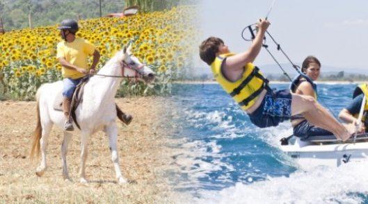 Colònies d'estiu Beach & Horses a Mieres i Palamós